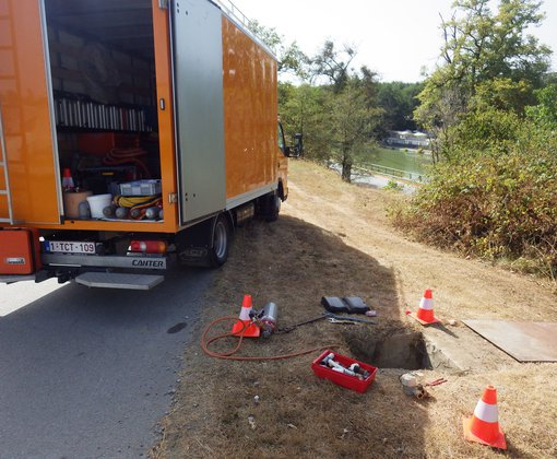 Preventieve leidingcontroles op campings